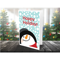Happy Holidays-Blank Cards