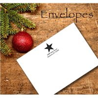 Envelope with Logo & Return Address
