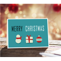 Merry Christmas-Blank Cards