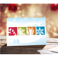 Happy Holidays-Custom-Personalized Cards